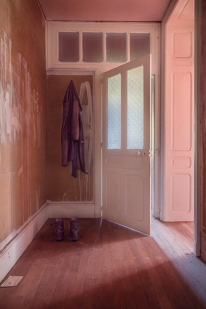 Die Tür stand offen. Ehrlich!