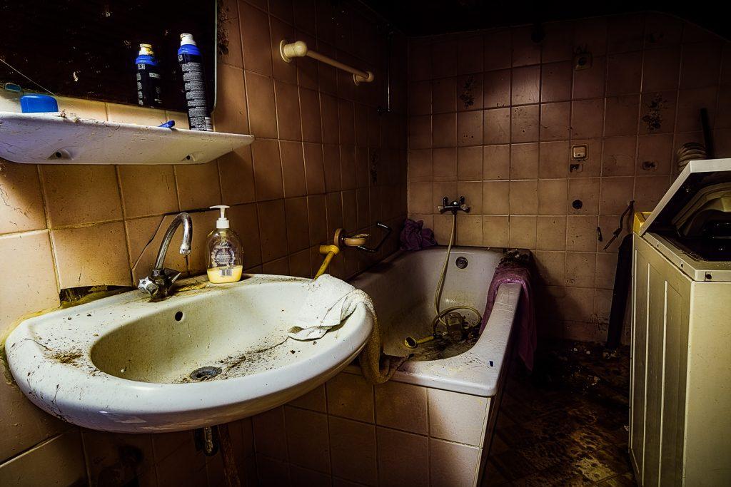 Das Bad mit ganz viel kein Platz
