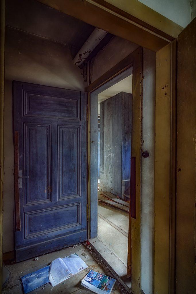 Tür zu! Es zieht!