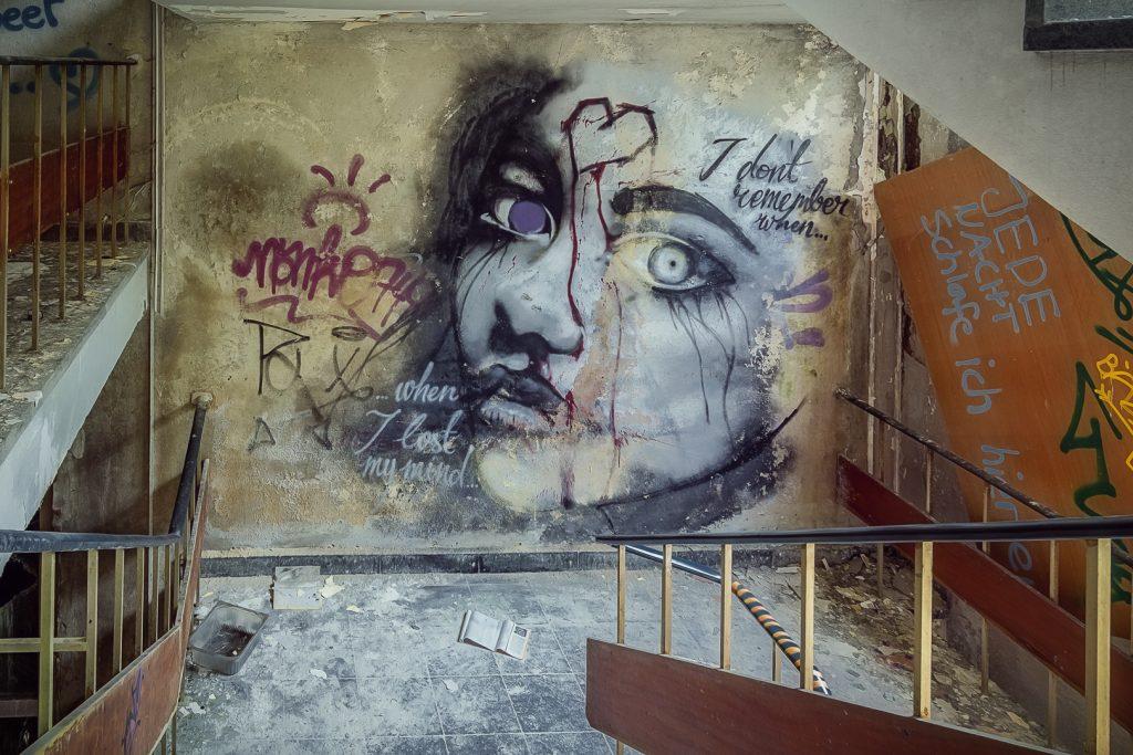 Bekanntes Graffiti